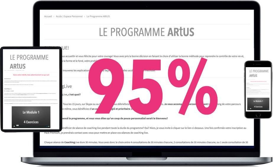 Le Programme ARtUS, c'est 95% de réussite, soit 16 cas résolus sur 17